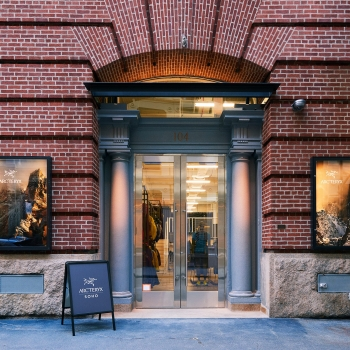 Arc'teryx Soho  - Temporary Location